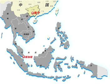 在老挝与越南边界